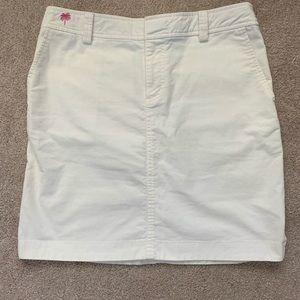 Lilly Pulitzer Corduroy Skirt 6/8